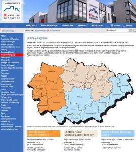 Homepage des Landkreises Marburg-Biedenkopf