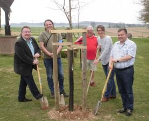 v.l.n.r.: Jörg Grasse, Thomas Meyer, Gerhard sack, Alexandra Klusmann und Thomas Groll
