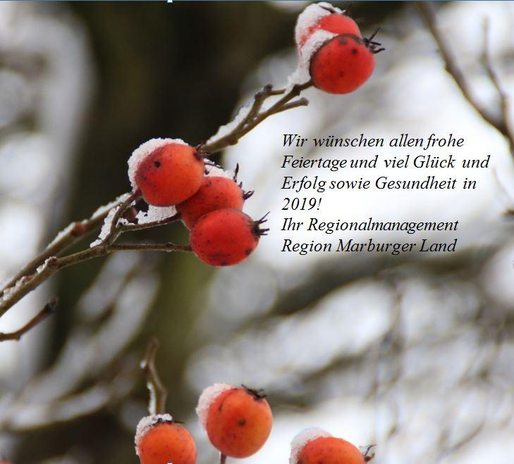 Alles Gute Zum Weihnachten.Frohe Weihnachten Und Alles Gute Fur 2019 Marburger Land