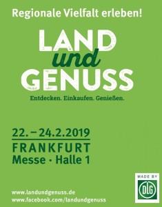 Land und Genuss vom 22.-24.02.2019 in Frankfurt am Main @ Frankfurt am Main